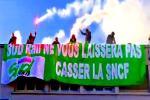 Frankreichs Eisenbahner stellen sich auf langen Streik ein