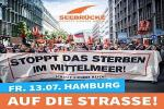 Hamburg: Seebrücke – für sichere Häfen!