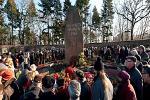 Kranzniederlegung am 14. Januar in der Gedenkstätte der Sozialisten