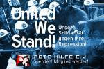 Rote Hilfe: United We Stand! Unsere Solidarität gegen ihre Repression!