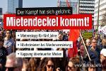 Berlin: Rot-rot-grün deckelt die Mieten