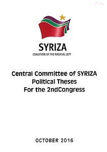 Political Theses for the 2ndCongress