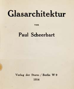 Paul Scheerbarth glasarchitektur