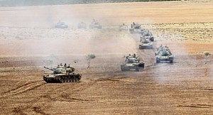 Syrien Invasion-tuerk-Panzer-arabnews