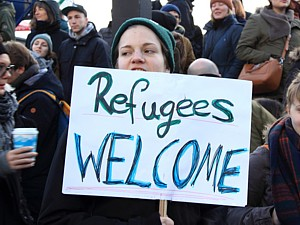Refugees-welcome flickr Rasande-Tyskar