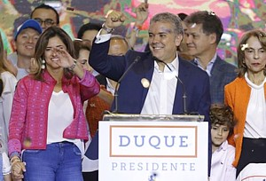 Kolumbien Duque Presidente