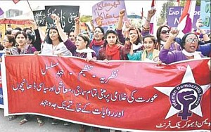 Pakistan Frauendemo