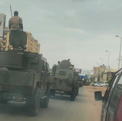 Sudan RSF with new AJBAN 440A from UAE