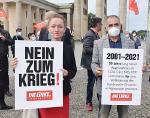 Linksfraktion enthält sich mehrheitlich bei Abstimmung über Evakuierungseinsatz der Bundeswehr.