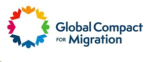 Logo Global Compact for Migration