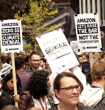 Amazon Klimaproteste