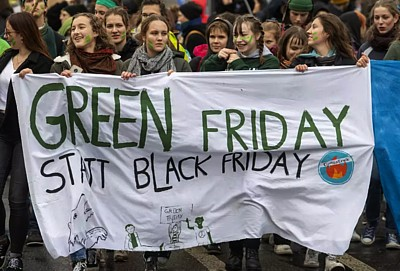 Klimastreik Green Friday Black Friday