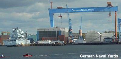 Kiel German Naval Yards