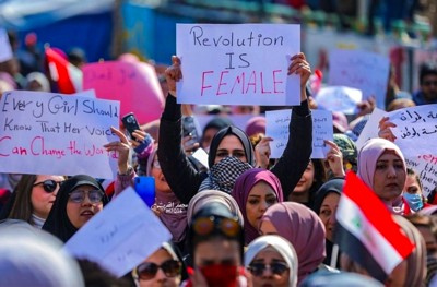Irak Revolution is female