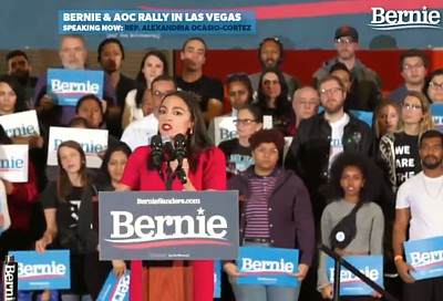 USA AOC for Bernie