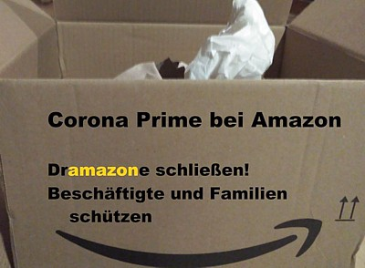 Corona Amazon schliessen